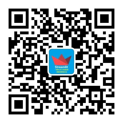微信公众号 Streamlit VX_yizhichongbaobao