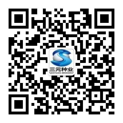 三元种业科技的微信二维码