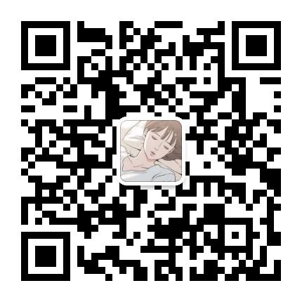 韩国小清新漫画二维码